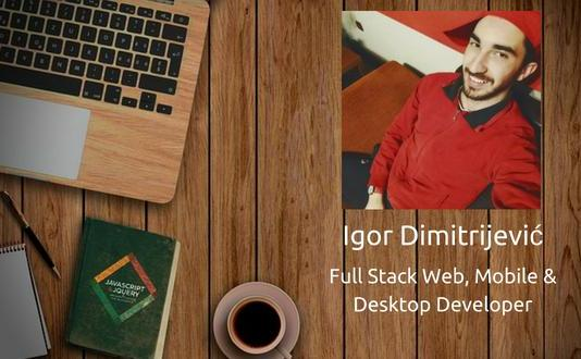 full stack web developer interview - Igor Dimitrijevic