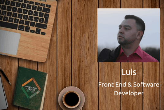 luis - software and front end developer