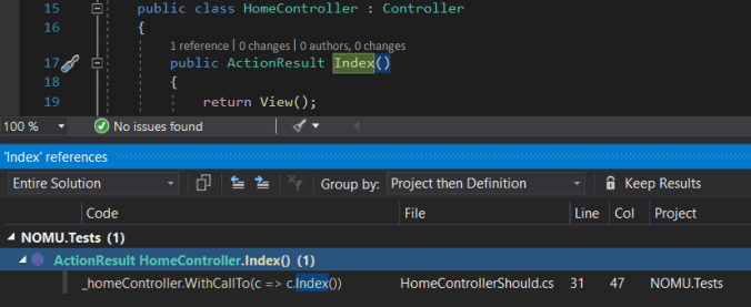 How to start working with an unknown codebase: finding method's usages in Visual Studio
