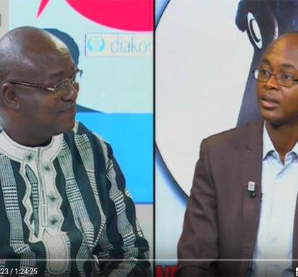 Dialogue citoyen avec Monsieur Eric W. BOUGOUMA, Ministre des Infrastructures