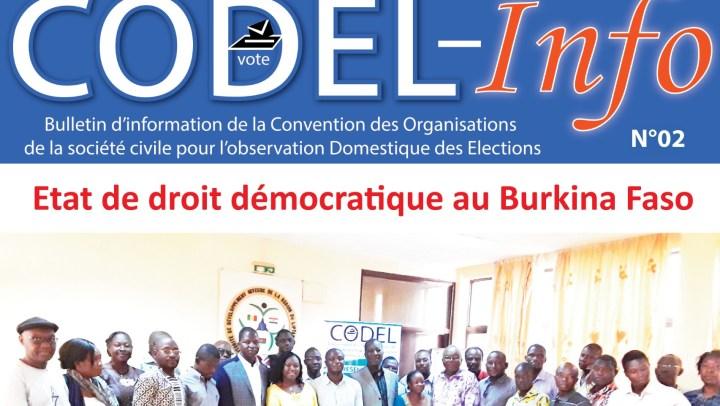 Bulletin CODEL-info N°02 du 2e semestre 2018