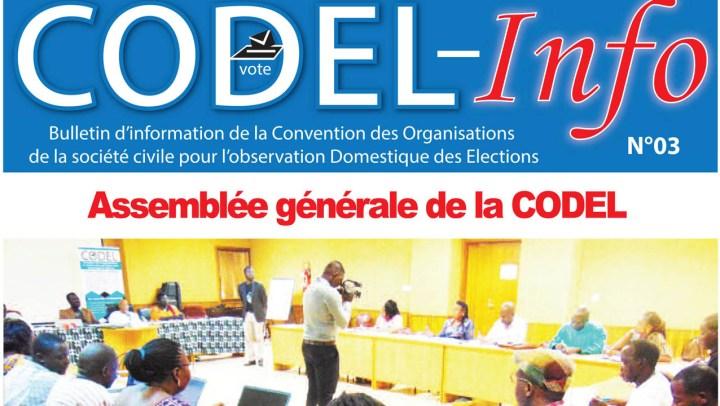 Bulletin CODEL-info N°03 du 1er semestre 2019