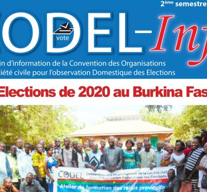 CODEL-INFO N°04 du 2e semestre 2019