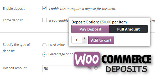 WooCommerce Deposits v2.1.5 - Partial Payments Plugin