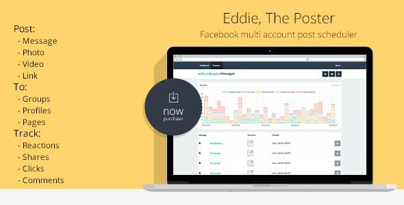 Eddie, The Poster   Facebook multi account post scheduler
