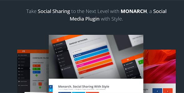 Monarch v1.4.11 – A Better Social Sharing WP Plugin