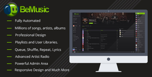 BeMusic v2.3.4 – Music Streaming Engine