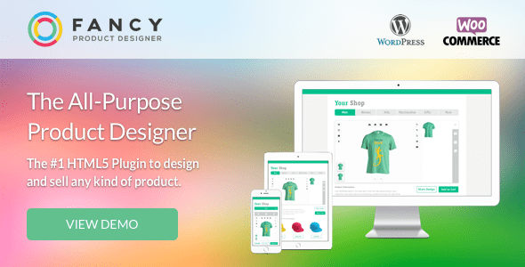 Fancy Product Designer v3.8.7 – WooCommerce plugin