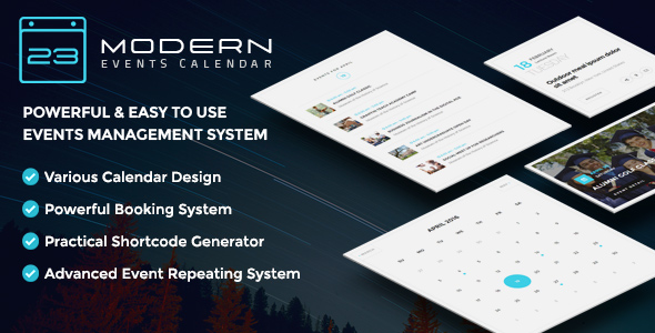 Modern Events Calendar v4.4.7 – Responsive Event Scheduler