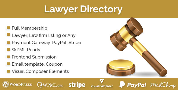 Lawyer Directory v1.2.1