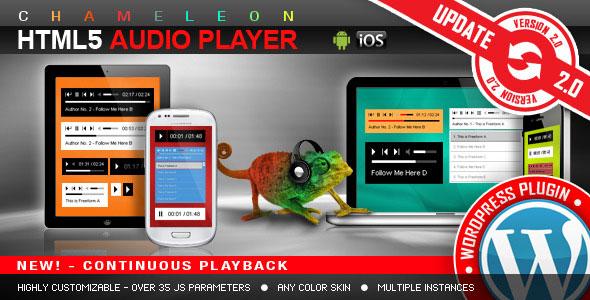 HTML5 Audio Player WordPress Plugin v2.9.9