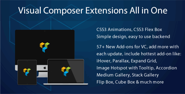 Visual Composer Extensions Addon All in One v3.5.1