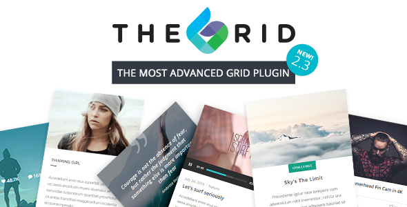 The Grid v2.3.5 - Responsive WordPress Grid Plugin