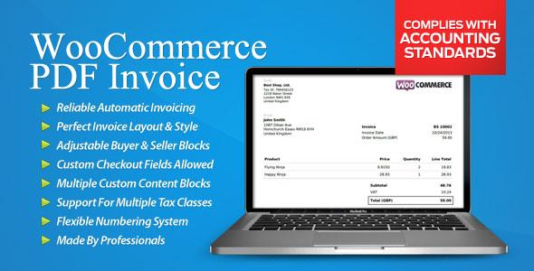 WooCommerce PDF Invoice v3.1.9