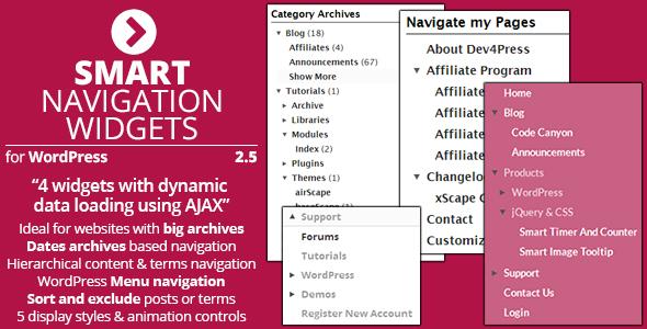 Smart Navigation Widgets v2.5.3
