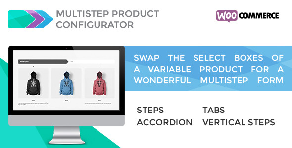 Multistep Product Configurator for WooCommerce v1.1.0