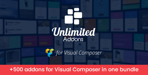 Unlimited Addons for Visual Composer v1.3.33