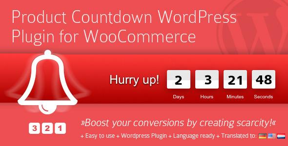 Product Countdown WordPress Plugin v4.0.10