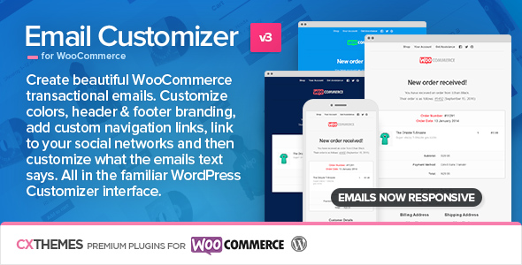 Email Customizer for WooCommerce v3.32