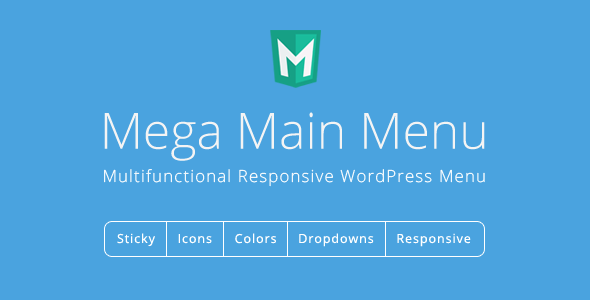 Mega Main Menu v2.1.8 - WordPress Menu Plugin