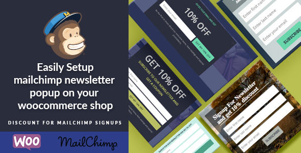 Woocommerce Mailchimp Discount v3.2