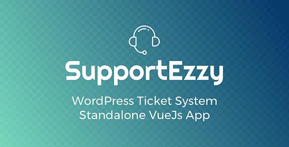 SupportEzzy v1.6.5 - WordPress Ticket System