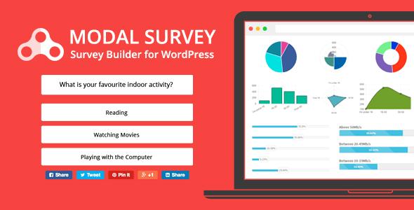 Modal Survey v1.9.9.5 - WordPress Poll, Survey & Quiz Plugin