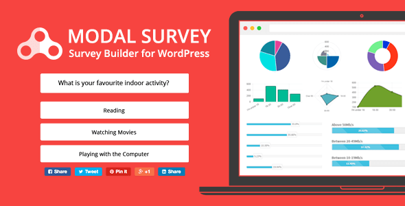 Modal Survey v1.9.8.9 - WordPress Poll, Survey & Quiz Plugin