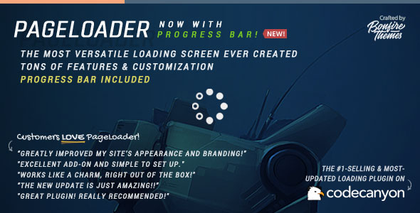 PageLoader v3.3 – Loading Screen and Progress Bar