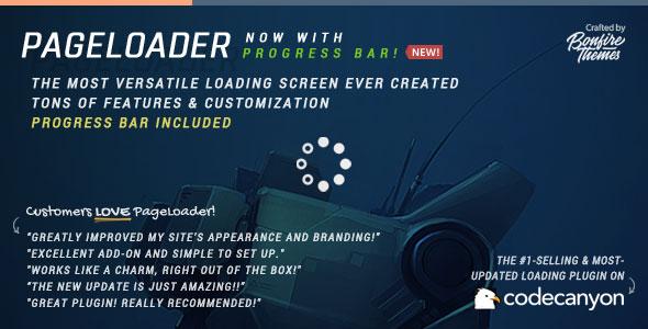 PageLoader v2.9 - Loading Screen and Progress Bar