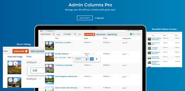 Admin Columns Pro v4.3.6 – WP Columns Manager