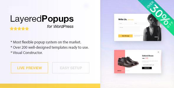 Layered Popups for WordPress v6.45