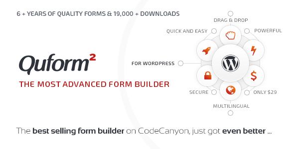 Quform v2.6.1 - WordPress Form Builder
