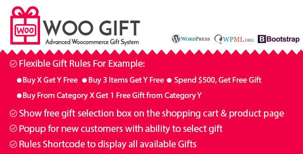 Woo Gift v4.6 - Advanced Woocommerce Gift Plugin