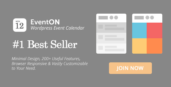 EventOn v2.6.11 - WordPress Event Calendar Plugin