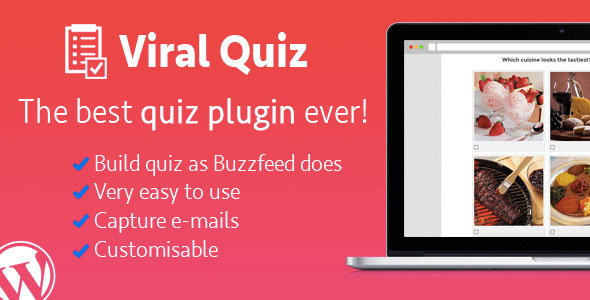 WordPress Viral Quiz v3.17 – BuzzFeed Quiz Builder
