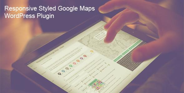 Responsive Styled Google Maps v4.5 - WordPress Plugin