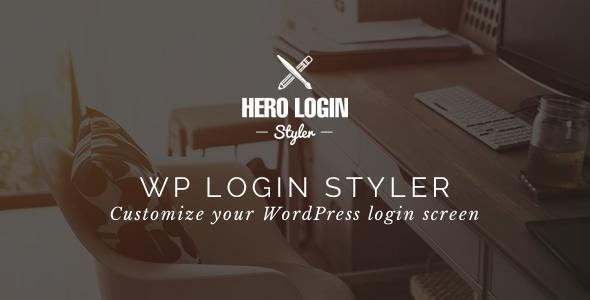 Hero Login Styler v1.3.0 - WP Login Screen Customizer