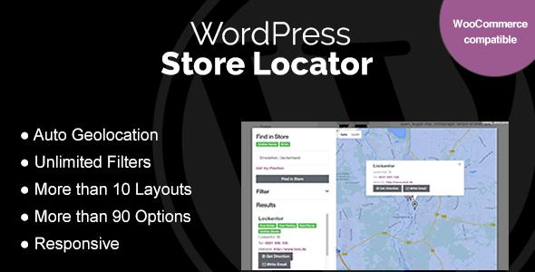 WordPress Store Locator v1.7.16