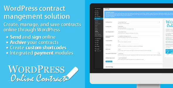 WP Online Contract v4.2.0