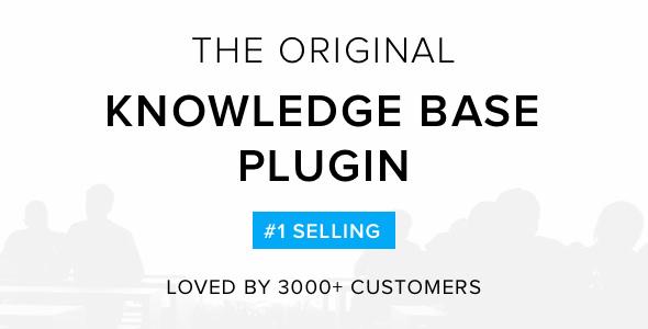 Knowledge Base v4.0.0 - Helpdesk | Wiki WordPress Plugin