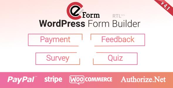 eForm v4.1.0 - WordPress Form Builder