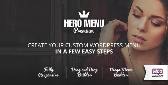 Hero Menu v1.10.0 - Responsive WordPress Mega Menu Plugin