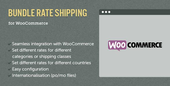 WooCommerce E-Commerce Bundle Rate Shipping v2.4