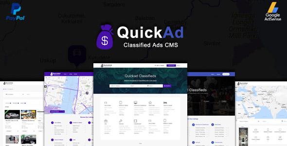 Quickad v6.6 - Classified Ads CMS