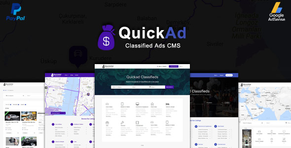 Quickad v6.6 - Classified Ads CMS
