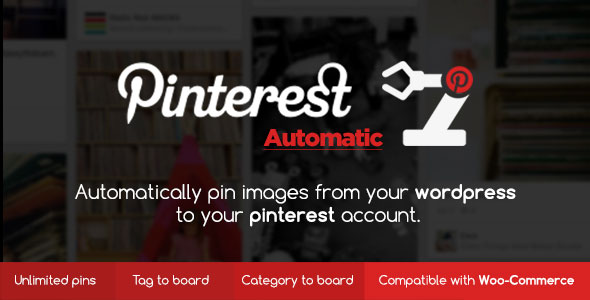 Pinterest Automatic Pin WordPress Plugin v4.10.3