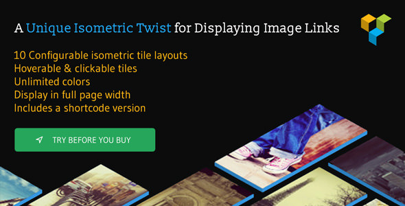 Isometric Image Tiles Shortcode for WPBakery Page Builder v1.5