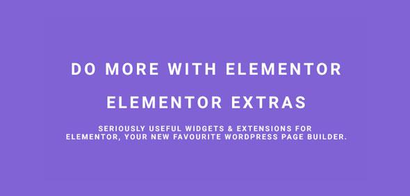 Elementor Extras v2.2.0 - Do more with Elementor