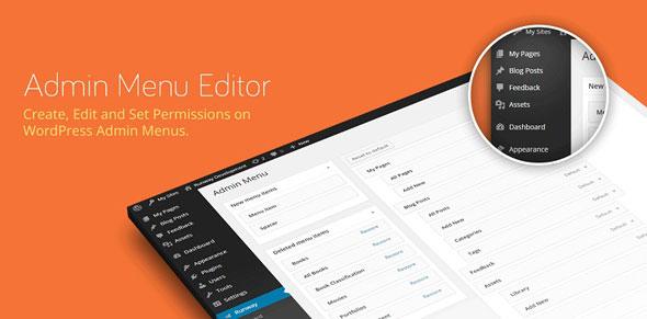 Admin Menu Editor Pro v2.8.1